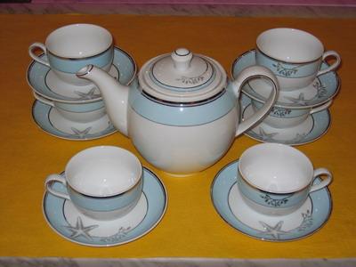 Bộ bình trà 0,8L Camelia hương biển xanh