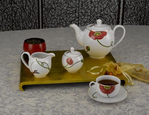Bộ bình trà 0,8L Camelia Kết duyên