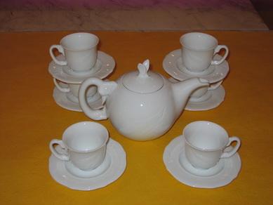 Bộ bình trà 0,7L Hạc trắng