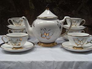 Bộ bình trà 0,8 L Hoàng điệp