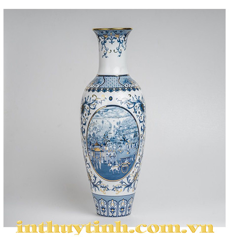 Bình hoa 50cm Hồn việt Minh Long I