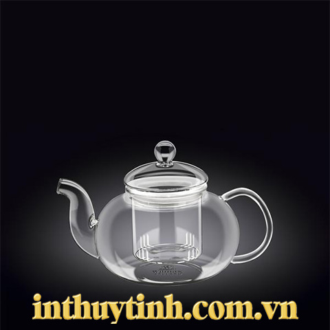 Bình trà 0.6L thủy tinh  ( WILMAX)