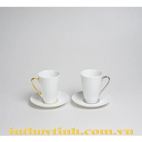 Bộ 2 tách và dĩa lót Amis Noritake