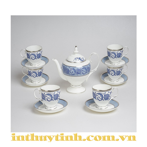 Bộ trà (13sp) Sonnet in Blue Noritake