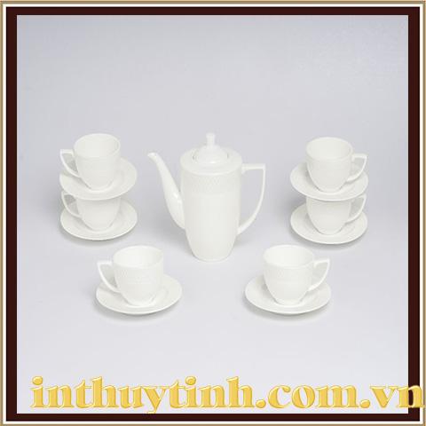 Bộ trà 13 sản phẩm Julia cao Wilmax - England