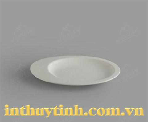 Dĩa oval 1 ngăn Ly's Horeca Gourmet 26 cm